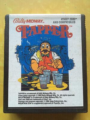 Tapper (Atari 2600, 1984)