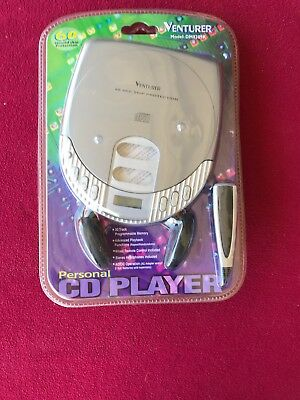 Venturer DM8301R Personal CD Player Skip Protection Wired Remote Headphone ()