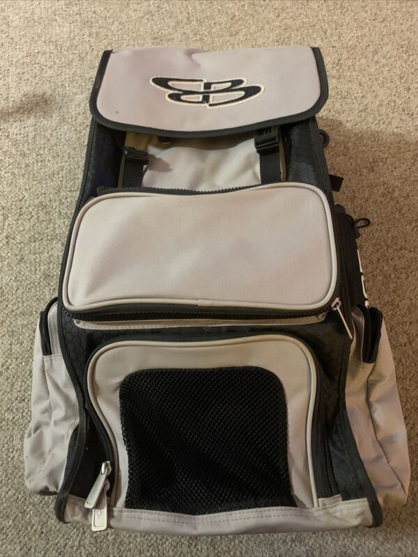 boombah grey bat bag