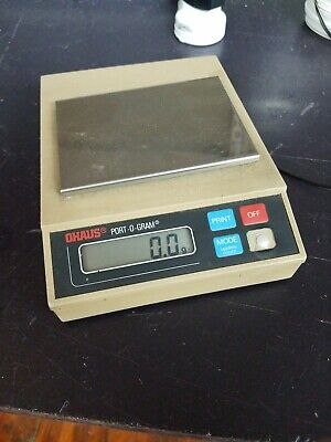 Ohaus C501port-o-gram 300g Digital Electronic Scale Weighs G Dwt Oz Lb