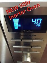 Microwave Panasonic 32L Stainless Steel Microwave Oven NEW (NN-SD691S Quakers Hill Blacktown Area Preview