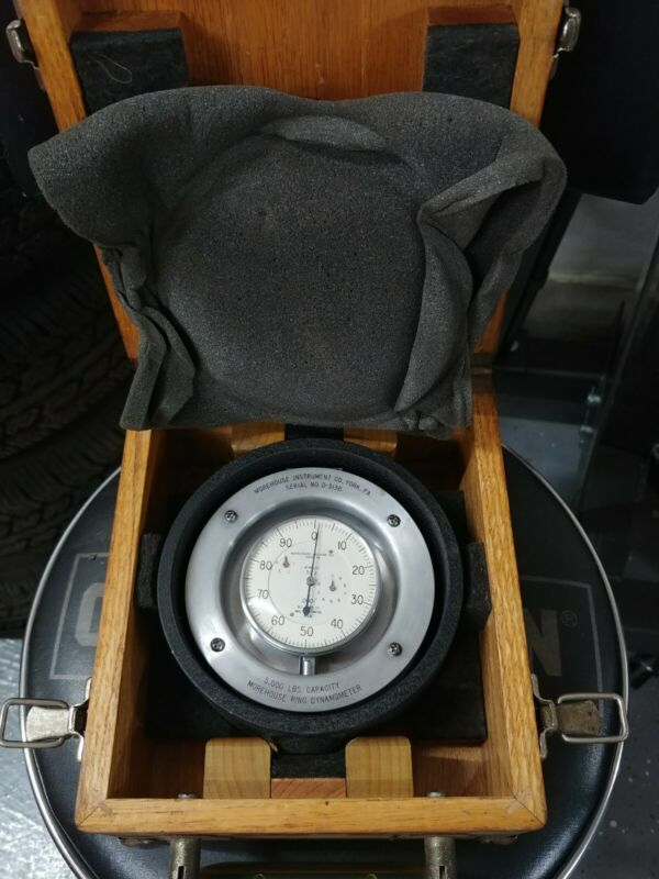 MOREHOUSE 5000 LB CAPACITY RING DYNAMOMETER
