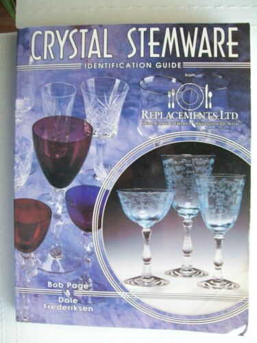 Crystal Stemware Glass Identification Collector