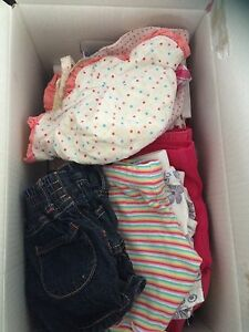 Box of 3-6 month summer clothes Thornlands Redland Area Preview