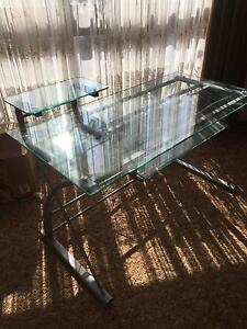 Glass Desk Richmond Yarra Area Preview