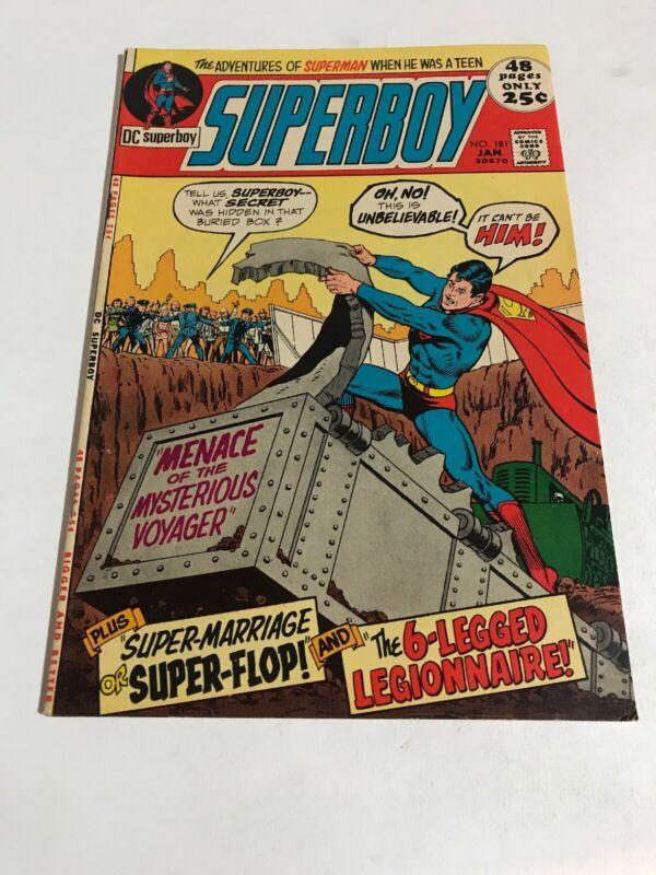 Superboy #181 (DC January, 1972)