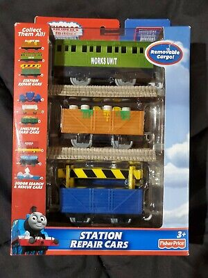 Thomas & Friends NEW Motorized Train Trackmaster Station Repair Cars Track Pack