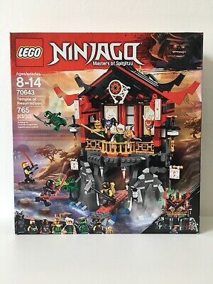RETIRED NIB New In Box. LEGO Ninjago Temple of Resurrection 2018 (70643)
