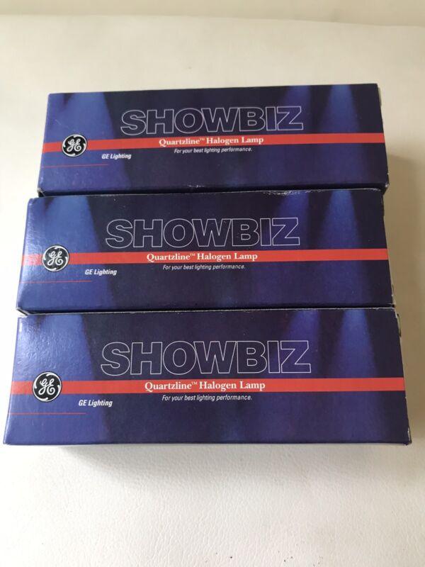 GE Showbiz Quartzline Halogen Lamp, 88625, 120V, 1000W