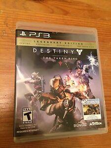 Destiny Legendary Edition like new!!