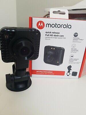 Motorola MDC125 Quick Release Full HD Dash Cam 7852079