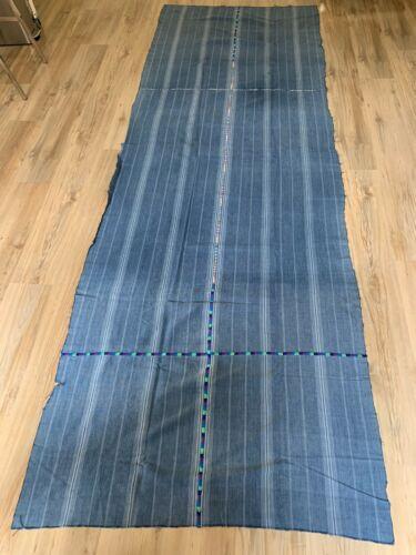 Vintage Guatemala Indigo Fabric