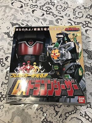 Mighty Morphin Power Rangers Dragon Caesar Zord Green Ranger Mmpr Toy