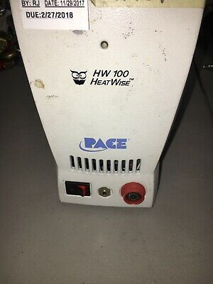 Pace Hw 100 Heatwise Soldering Station. Tested