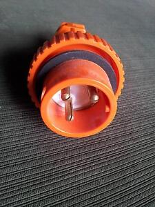 3 pin round ip66 20 amp male plug WILCO WIP120B Hornsby Hornsby Area Preview