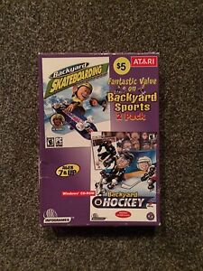 Backyard Sports 2 Pack - Skateboarding & Hockey