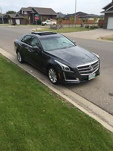 2014 cadillac CTS Turbo Luxury package