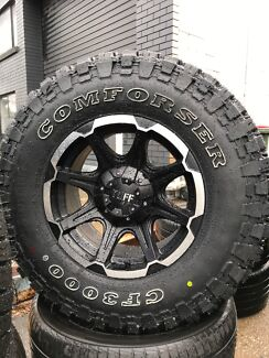 16inch Mud Tyre With Spyder Rims Wheels Tyres Rims Gumtree