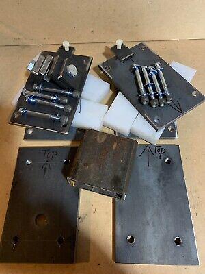 Model 28 Band Sawmill Upgrade Uhmw Slide Adjustable Plate Post System