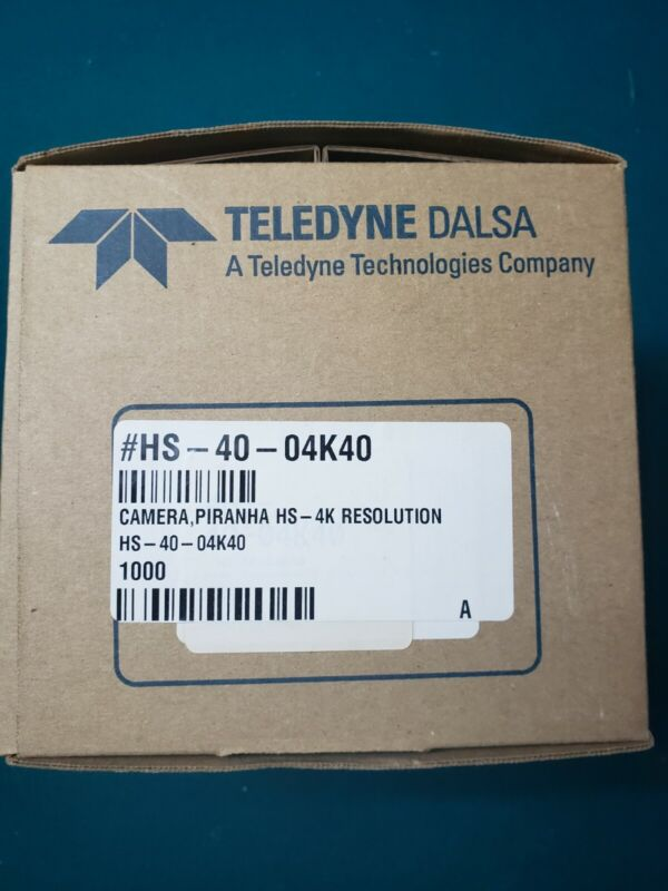 Teledyne Dalsa Piranha HS-40-04K40 High Sensitivity Line Scan Camera