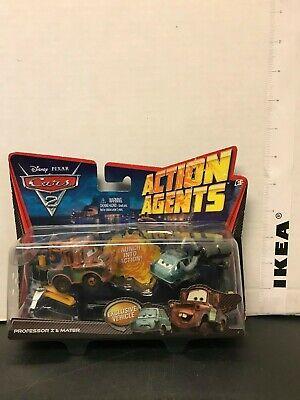 Disney Pixar Cars 2 Action Agents Professor Z & Mater