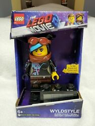 The LEGO Movie 2 Wyldstyle Kids Minifigure Light Up Alarm Clock LCD New