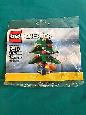 LEGO CREATOR 30009 CHRISTMAS TREE, NEW IN SEALED PACKAGE Gift RETIRED