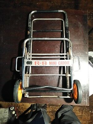 Trolley Dolly Black Shopping Grocery Foldable Cart 01-562