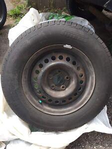 Pirelli 195/70/r14 5x100 all season tires.