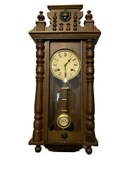 Vintage Linden  31 Day Chime Wall Clock