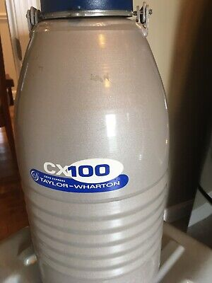 Vgex Tested Taylor-wharton Cx100b-11m Cryogenic Dry Shipper 4.4l Wgood Case