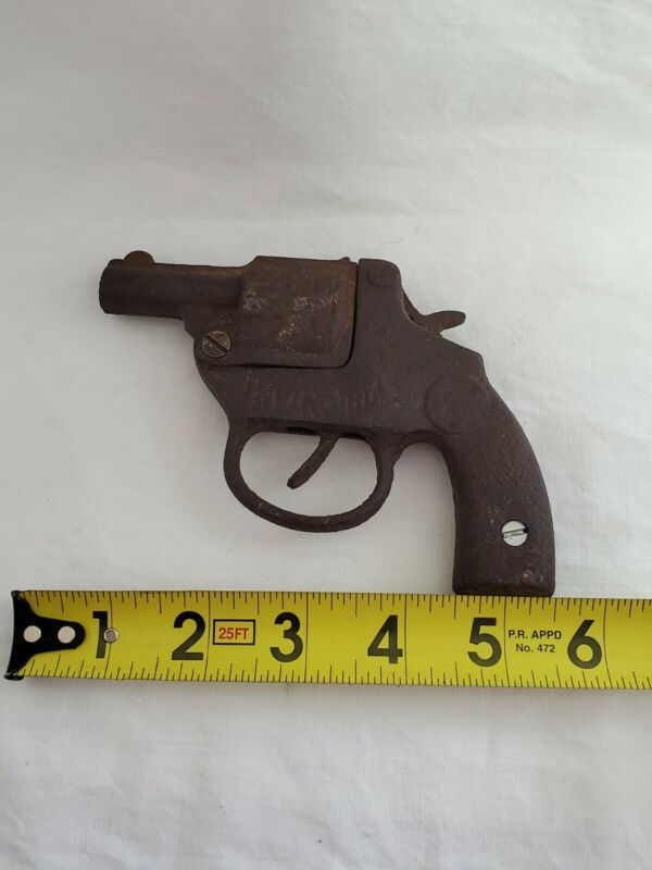 Vintage Cast Iron Invincible Toy Gun