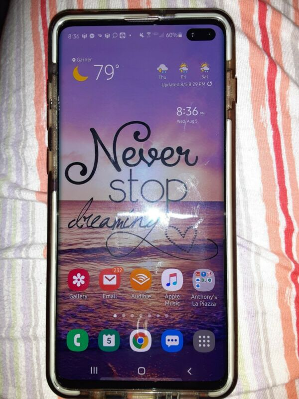 CLEAN IMEI Samsung Galaxy S10+ 128GB -  Open box - slightly used phone
