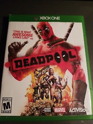 Deadpool Microsoft Xbox One, 2015 Rated M Mature 17+ Marvel Activision