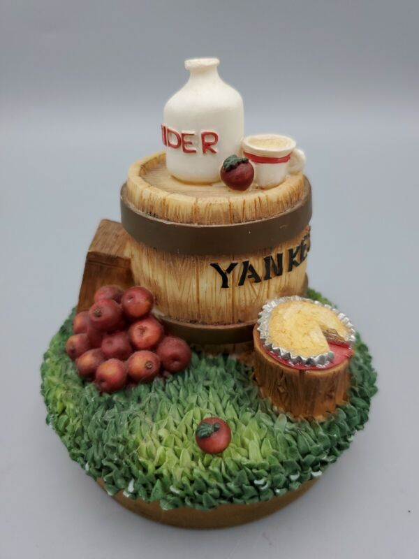 """Yankee Candle Jar Topper """"Yankee Cider Mill"""" Apples Fall Autumn"""