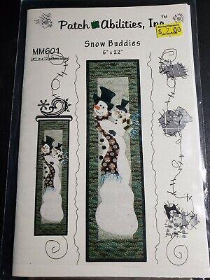 Snow Buddies Quilt pattern Patch Abilities