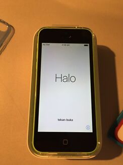 Iphone 5c green, awesome condition