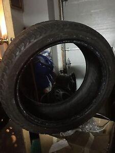 Michelin low profile winter tires 225/40r18