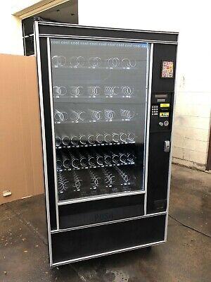 National Ap 123c Chill Snack Vending Machine 1s 5s Led 5 Tube Coin Mec