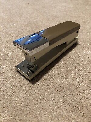 Acco 20 Brown Wood Grain Chrome Black 1970s Desk Stapler Free Shipping