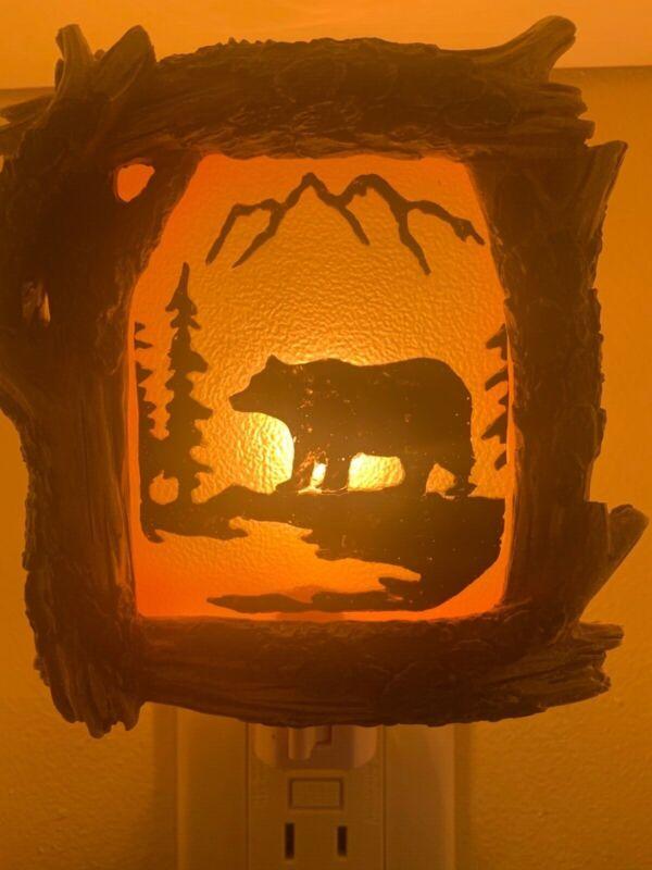 mountain bear night light