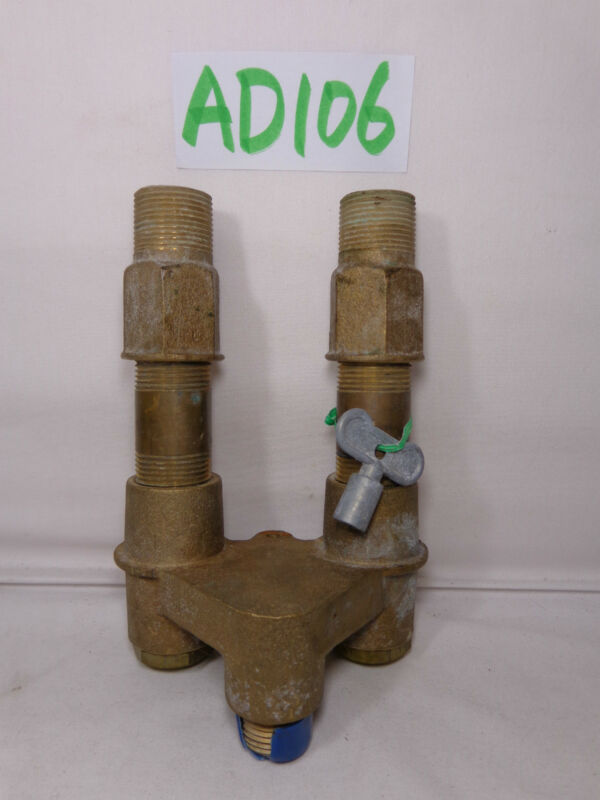 EYEWASH EYE WASH VALVE USED SAFETY EMERGENCY BRASS USA MADE