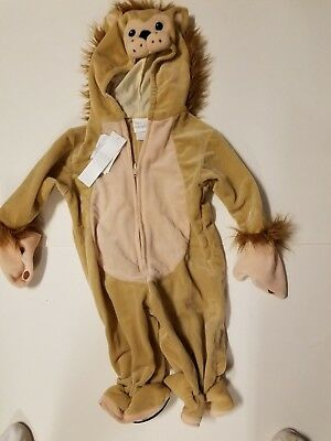 Infant Miniwear Brand Furry Lion Halloween Costume Size 6-9 Months 17-20 - Halloween Costume Lion