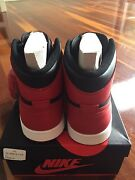 Air Jordan 1 bred 2013 size 9 with footlocker receipt nmd yeezy Chadstone Monash Area Preview