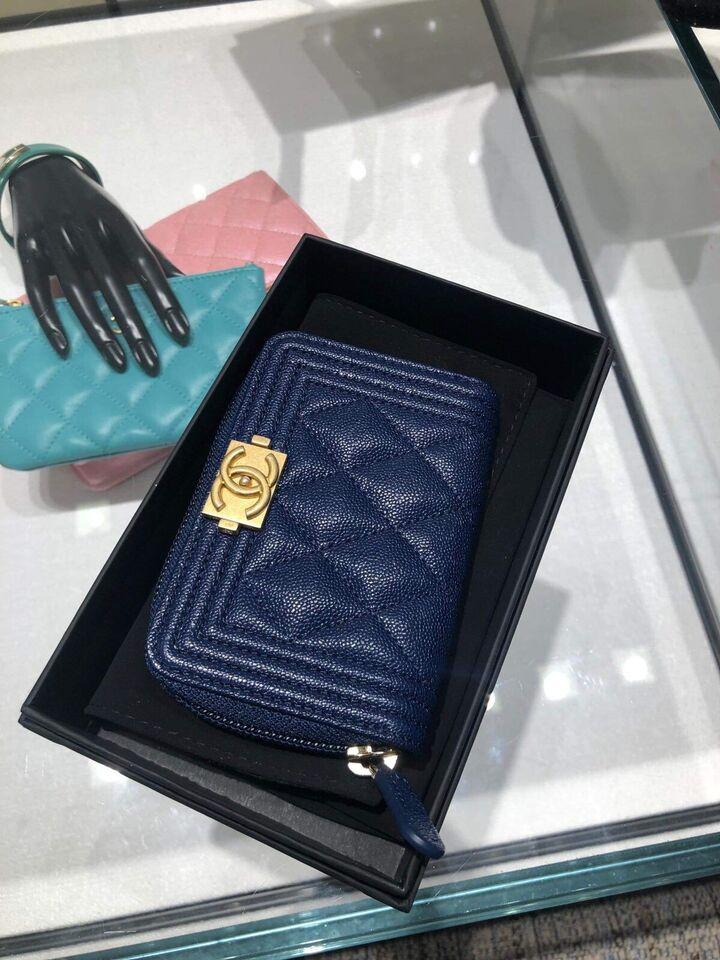 aeb1d0bac7a91e BOY CHANEL ZIPPED WALLET BNIB | Women's - Bags & Wallets ...