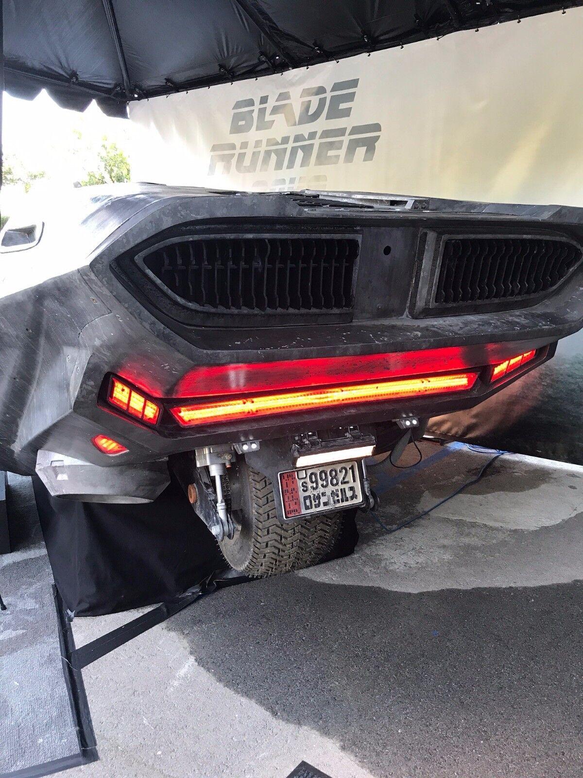 Blade Runner 2049 / Ryan Gosling Officer K's Spinner STAMPED Prop License Plate