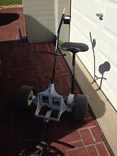 Electric golf buggy with clubs Warnervale Wyong Area Preview