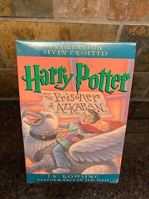 Harry Potter and the Prisoner of Azkaban Audiobook 7 Cassettes