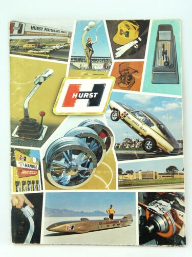 Vintage Hurst Performance Products 1968 Catalog Shifters , Wheels , Etc