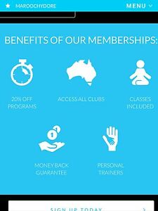 GYM MEMBERSHIP GOODLIFE Forest Glen Maroochydore Area Preview